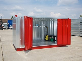 Chemical storage container, Expandachem (flat pack)