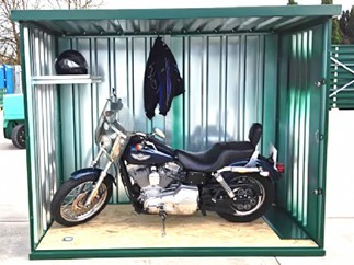 New MK Secure Motorcycle garage