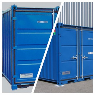 Storage containers, LC and Mover box range